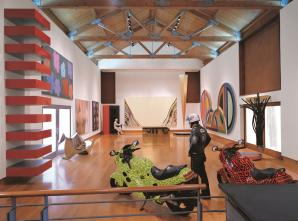 The Weisman collection photo courtesy of the Frederick R. Weisman Art Foundation