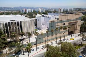 Overview of Los Angeles County Museum.  Photo courtesy of the Los Angeles County Museum of Art
