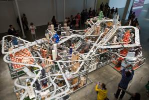 Metropolis by Chris Burden in the LACMA collection. Photo courtesy of the Los Angeles County Museum of Art