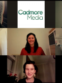 Screen capture from Session 4 Q&A: Panelists and IIC Congress team excited to discuss the audience questions from across the globe. Pictured left to right: (top row) Jane Henderson, Jessica Bekesi, (middle row) Kasey Hamilton, Francesca Gherardi, Martin Michette, (bottom row) Katharina Fuchs. (not pictured - Tatiana Shannon)