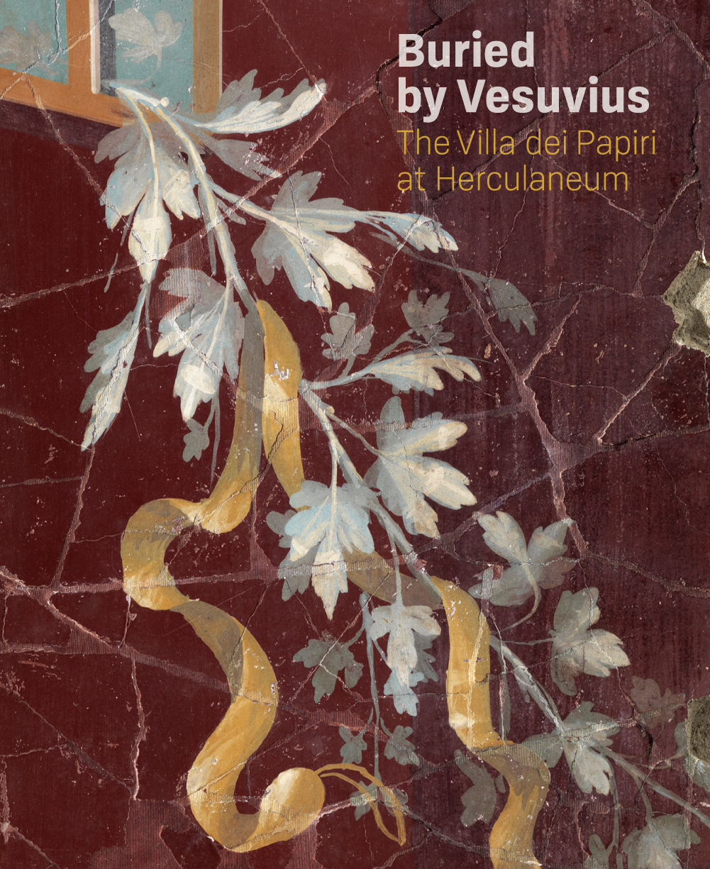 Buried by Vesuvius, book cover. Image courtesy of J Paul Getty Museum.