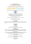 imagen de la portada de cambio climático