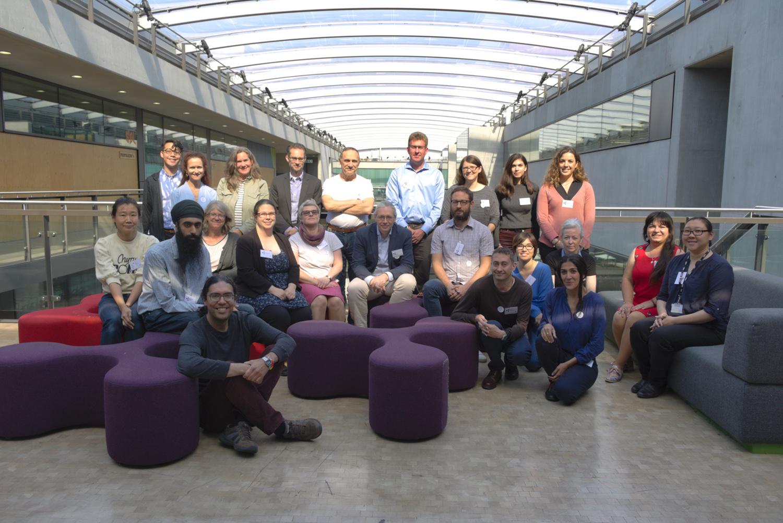 Group photo of workshop participants. Photo by Gabriele Grigorjeva