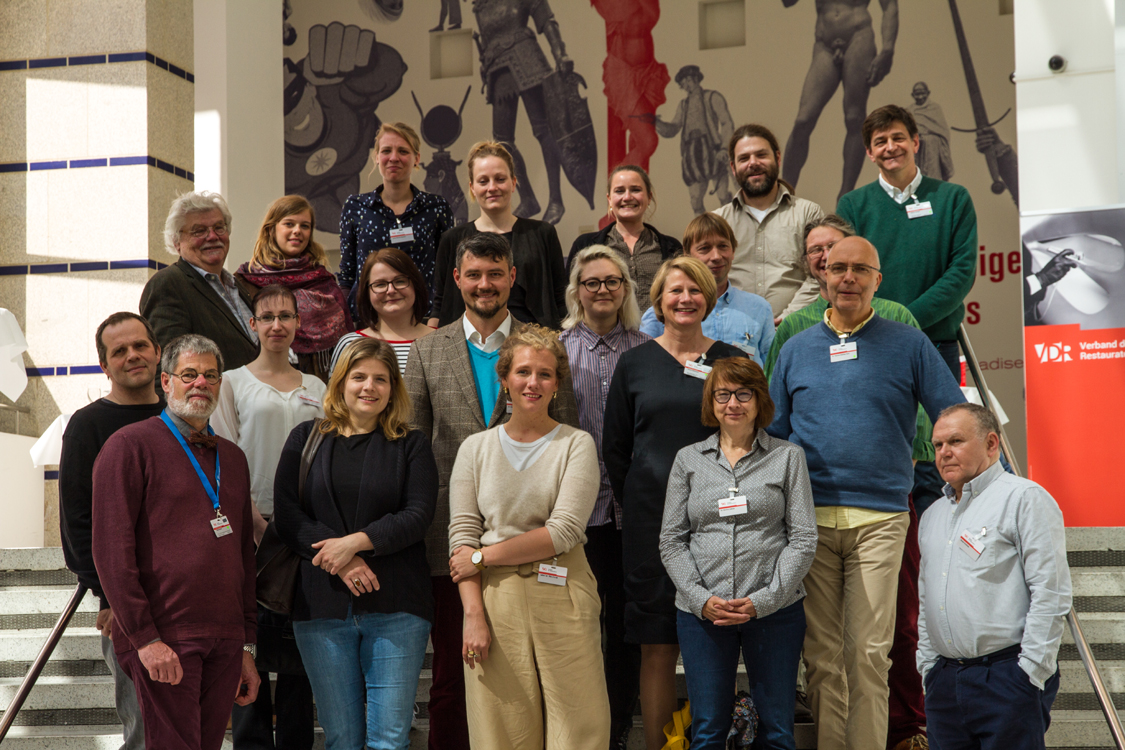 Speakers at the second day of the conference. Image courtesy of photographers Henrike Steinweg and Anselm Pranz (2019).