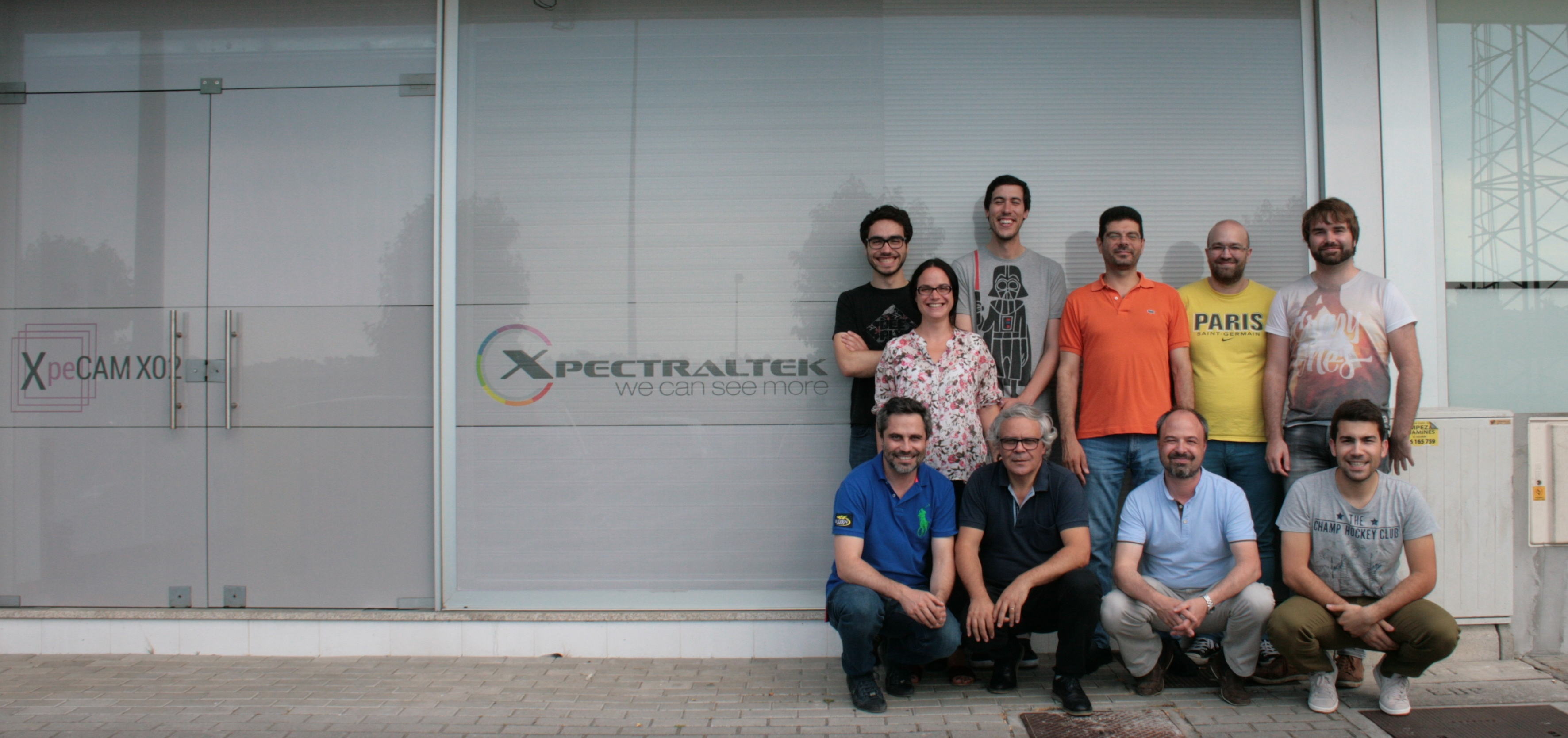 XpectralTEK staff portrait. Image courtesy of XpectralTEK.