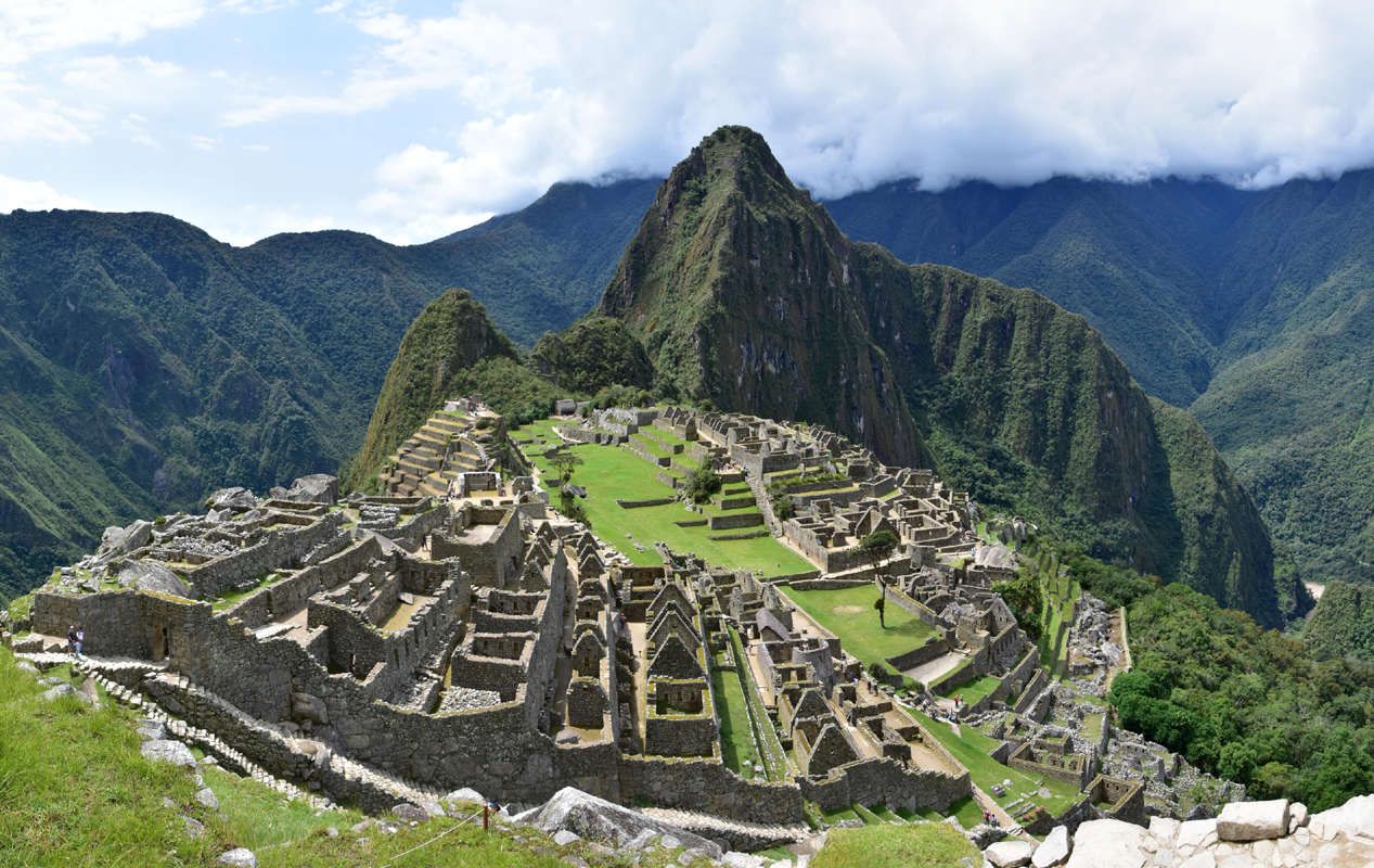 """""""The magnificent City in the Clouds."""" Machu Picchu, Peru. 2016. Photograph by R.R. Oxborrow, CDR, USN (Ret)"""