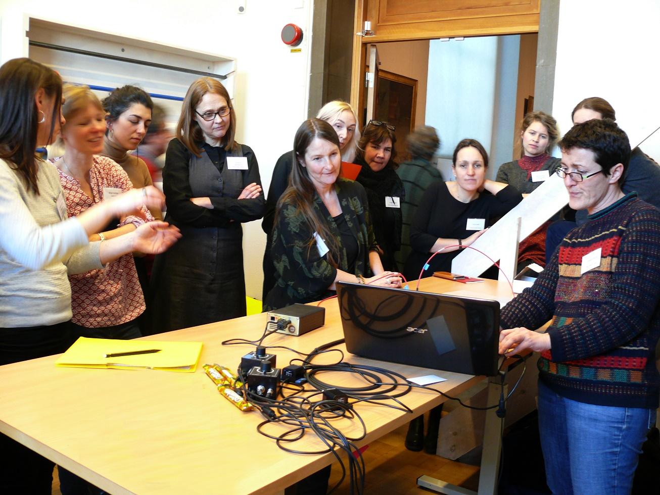 Workshop participants. Photo Gothenburg Museum