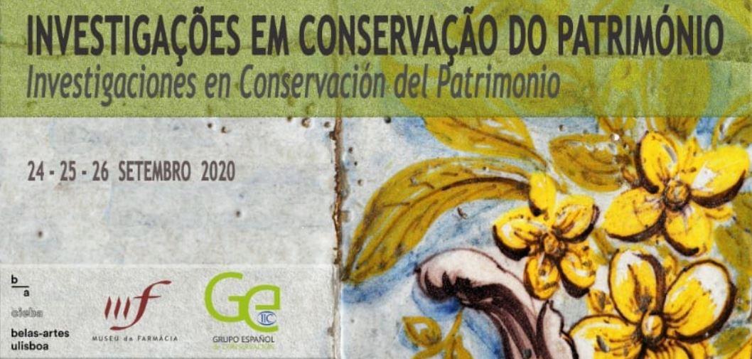 Image courtesy of III Congreso Ibero-Americano de Investigaciones en Conservación del Patrimonio