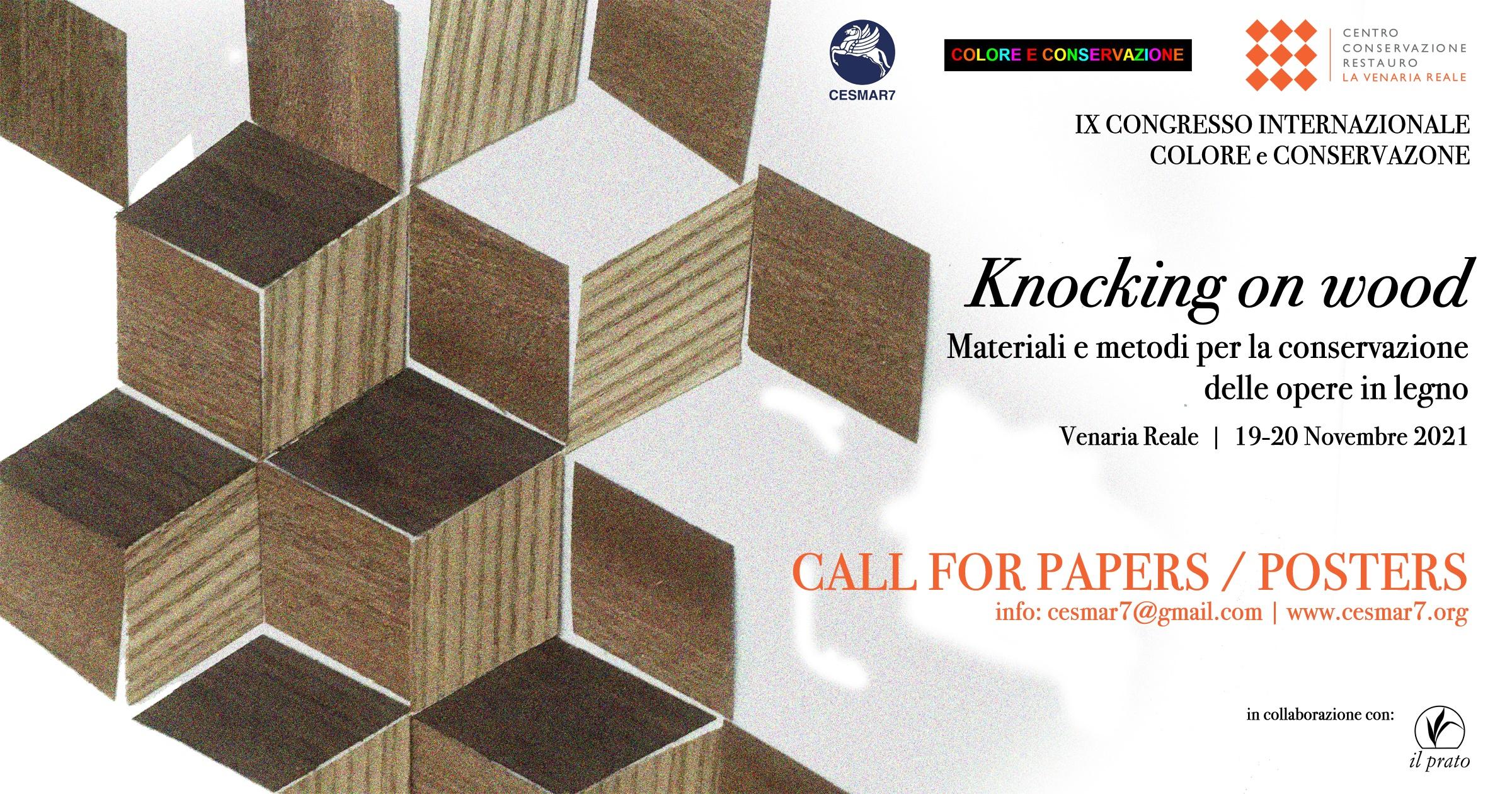 Cesmar7 IX International Conference Colore & Conservazione Poster