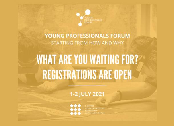 Young Professionals Forum Registration Poster