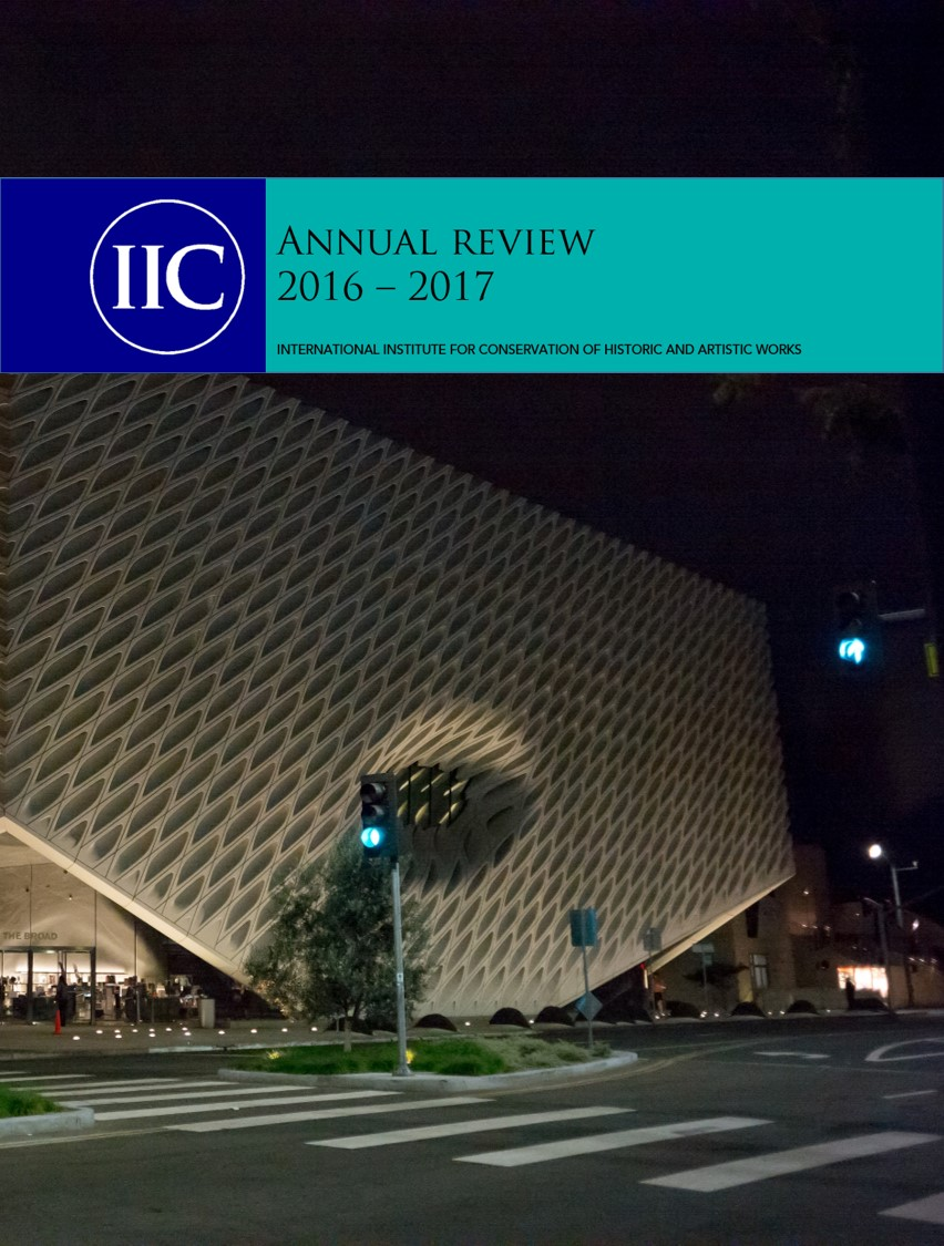 2016 - 2017 Annual review front cover