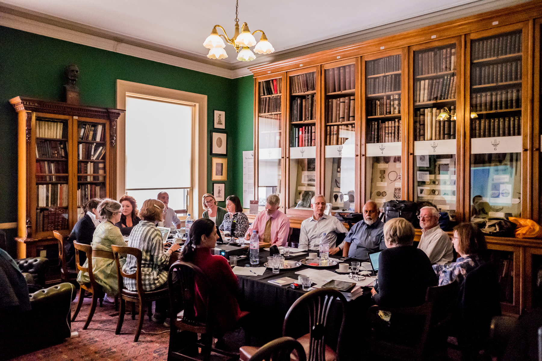 IIC Council members meeting this past May in London at the Society of Antiquaries. Image © International Institute for Conservation of Historic and Artistic Works