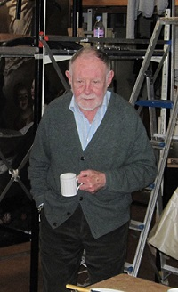 Robert Shepherd (1935-2018). Photo courtesy of Simon Howell, Shepherd Conservation.