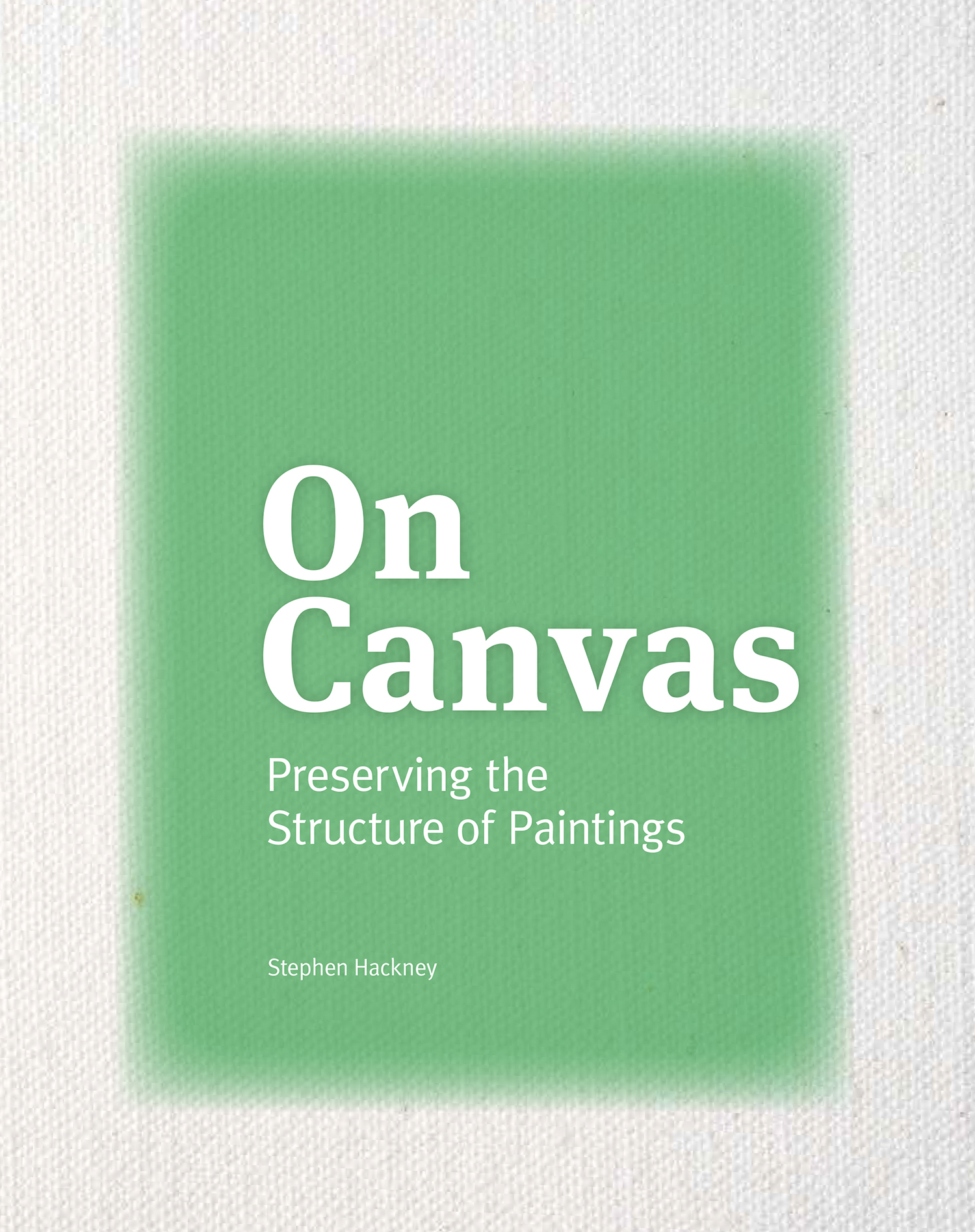 Front and back cover images of On Canvas courtesy of Getty Publications.