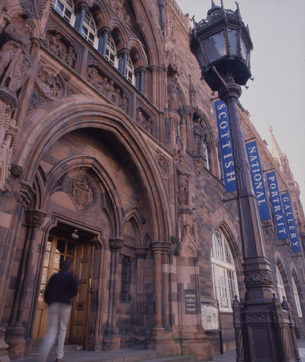 The Scottish National Portrait Gallery, where many of the meetings of the local organising committee were held (image courtesy of National Galleries Scotland).