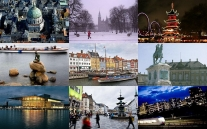 Collage - Copenhagen © Wikimedia Commons