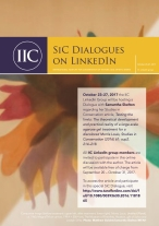 SIC Dialogues on Linkedin poster