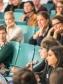 Publikum während der Podiumsdiskussion (Image: TH Köln - CICS - LOC - David Bijan Andree)