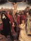 Hans Memling (Flemish, ca. 1440–1494), The Triptych of Jan Crabbe, ca. 1467-70. ©Pinacoteca Civica di Palazzo Chiericati, Vicenza. Left and right panels:  ©The Morgan Library & Museum, Photography by Graham S. Haber