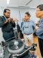 Senior AV Preservation Officer Shanker Thangavellu elaborates  on the challenges of cleaning vinyls and shellacs to visitors. Images courtesy of the National Archives of Singapore.
