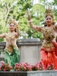 Cambodian dancers at the event. Photo by Stephen Bobb