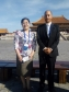 Austin Nevin and Song Jirong at the Taihe Forum, Palace Museum, Beijing. Image courtesy of Austin Nevin