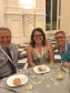 Michael Henry (University of Pennsylvania), Melissa King (WUDPAC), and Dr. Joelle Wickens (Winterthur/University of Delaware) at the congress banquet dinner. (Image taken by Jenifer Bosworth).
