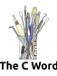 The C Word Logo based on artwork by Jenny Mathiasson.