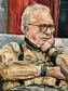 Painted portrait of Peter Rockwell. Image courtesy of the artist, Jimmy Kennedy.