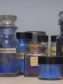 A collection of historical and modern pigments.