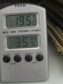 A Thermo-Hygrometer used to measure temperature and relative humidity in a storage room© Adam Klups