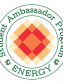 Sustainability in Conservation Student Ambassador Program Energy logo. Copyright SiC. Created by Estelle De Bruyn and Adrien Gary Lucca.