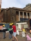 Newlands, Cape Town, South Africa - April 25 2021. Volunteers saving historic materials from the Jagger Library archives, which were damaged in the recent wild fires at University of Cape Town. Gail Euston-Brown / Shutterstock.com.