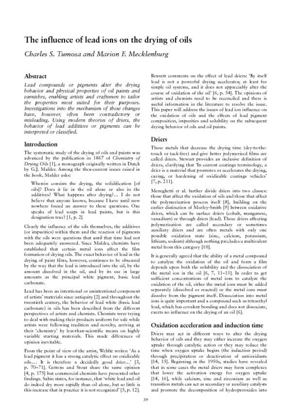 First page of RiC article